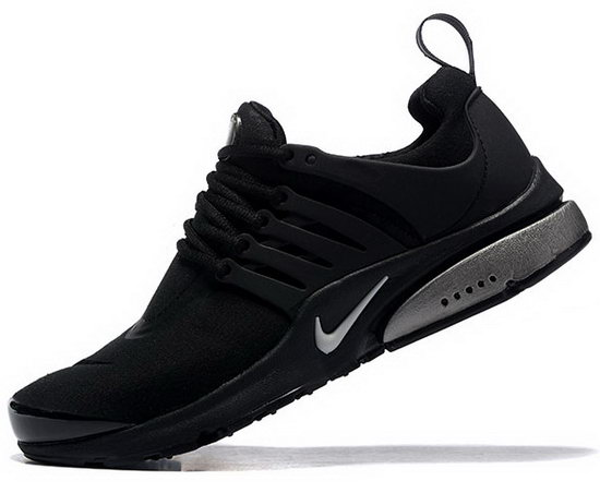 Mens Nike Air Presto Black Silver 40-46 Closeout