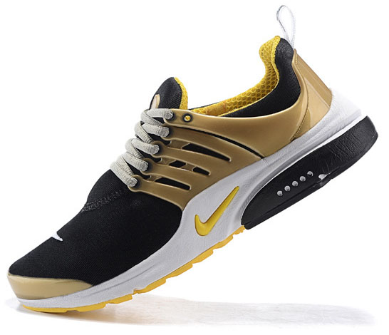 Mens Nike Air Presto Black Yellow 40-46 Low Cost