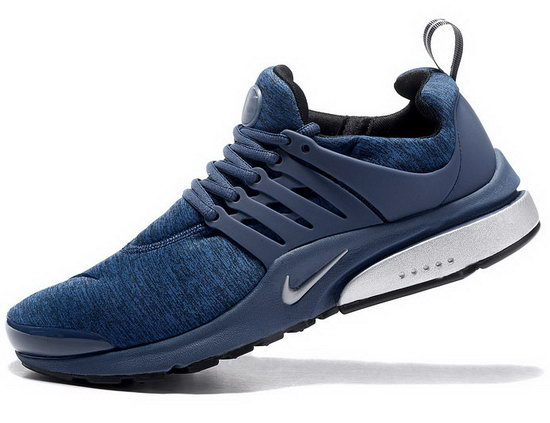 Mens Nike Air Presto Dark Blue Silver 40-46 Denmark