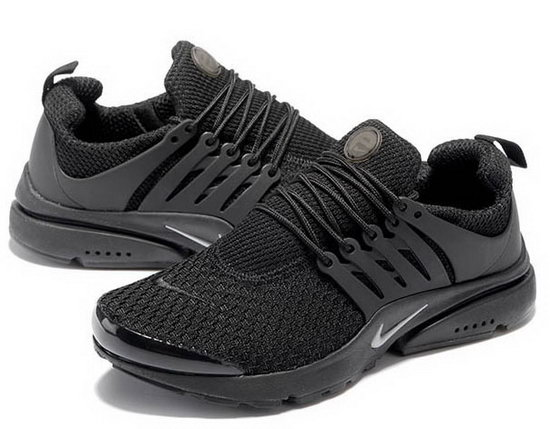 Mens Nike Air Presto Flyknit All Black 40-46 Sweden