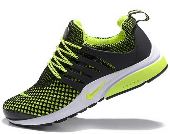 Mens Nike Air Presto Flyknit Black Green 40-46 Uk