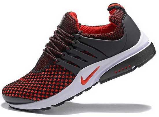 Mens Nike Air Presto Flyknit Black Red 40-46 Coupon Code