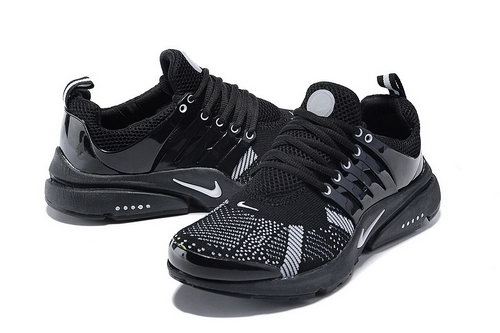 Mens Nike Air Presto Flyknit Black White Coupon