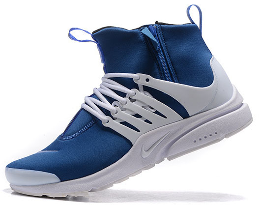 Mens Nike Air Presto Mid Blue White 40-45 Hong Kong