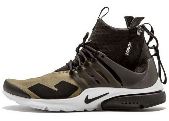 Mens Nike Air Presto Mid Medium Olive Dust Black 40-45 Spain