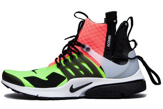 Mens Nike Air Presto Mid White Black Hot Lava 40-45 Germany