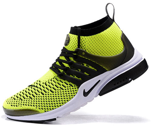 Mens Nike Air Presto Ultra Flyknit Green Black 40-46 Poland