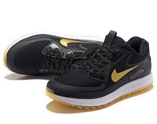 Mens Nike Air Zoom 90 It Black Gold Cheap