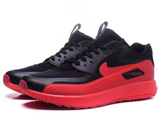 Mens Nike Air Zoom 90 It Black Red Discount Code