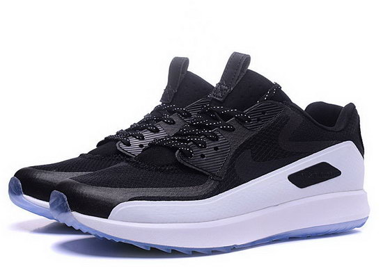 Mens Nike Air Zoom 90 It Black White Outlet