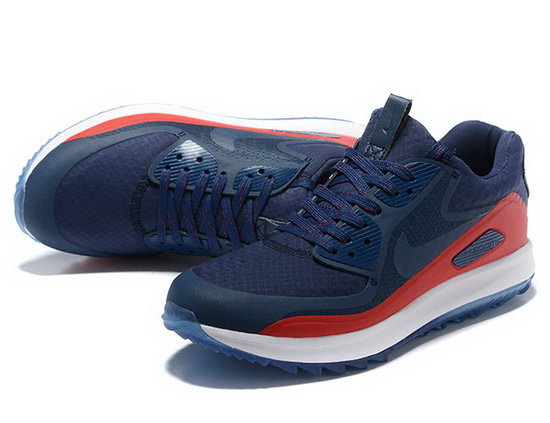 Mens Nike Air Zoom 90 It Dark Blue Red Denmark
