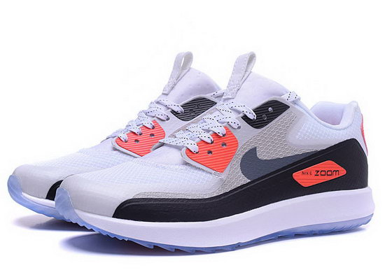 Mens Nike Air Zoom 90 It White Orange Black On Sale