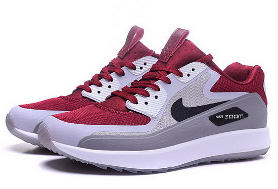 Mens Nike Air Zoom 90 It Wine Light Grey Greece