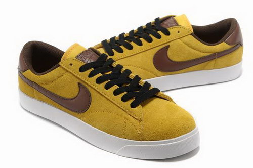 Mens Nike Blazer Low Iii Yellow Brown Outlet Online