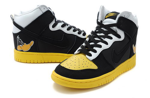 Mens Nike Dunk High Duck - Black Yellow Review