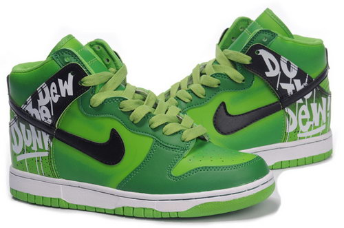 Mens Nike Dunk High Field Green Factory Outlet