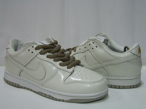 Mens Nike Dunk Low All White Online