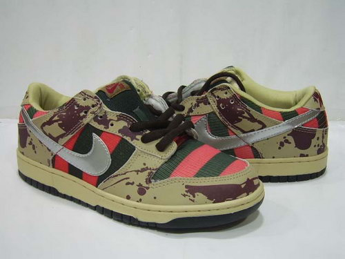 Mens Nike Dunk Low Army Colored Hong Kong