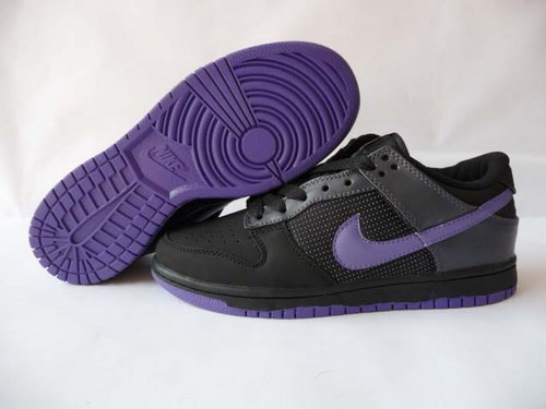 Mens Nike Dunk Low Black Purpler Hook Online Shop