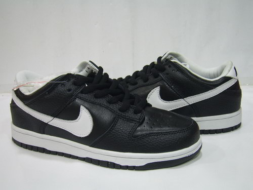 Mens Nike Dunk Low Black White Hook Spain