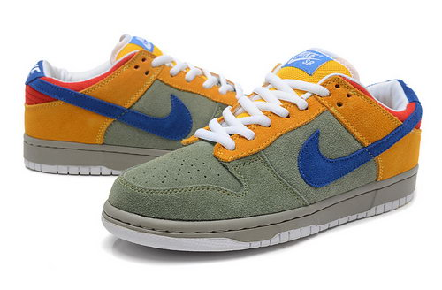 Mens Nike Dunk Low Chinese Dragon Bean-green Earth-yellow Factory