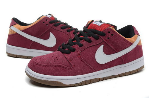 Mens Nike Dunk Low Claret Low Price