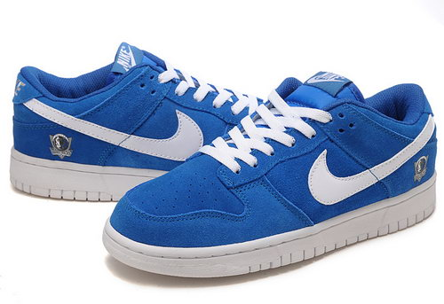 Mens Nike Dunk Low Dallas Mavericks - Navy Blue Italy