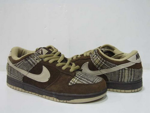 Mens Nike Dunk Low Deep & Light Brown Coupon