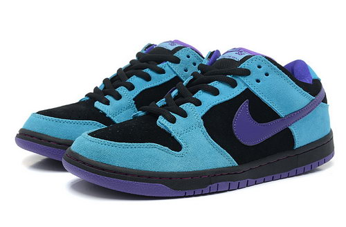 Mens Nike Dunk Low Kelpie - Blue Black Purple Switzerland