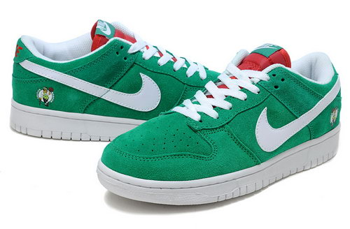 Mens Nike Dunk Low Nba Celtics - Golf Green White Outlet Store