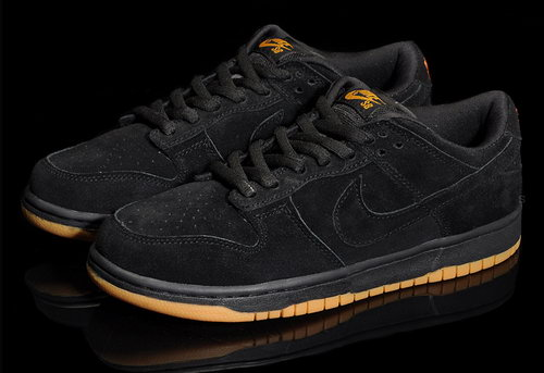Mens Nike Dunk Low Black Germany