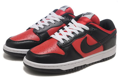 Mens Nike Dunk Low Campus - Black Red Inexpensive