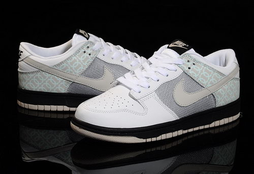 Mens Nike Dunk Low Campus - White Grey Black New Zealand
