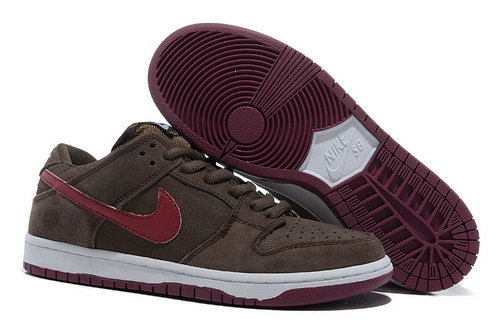 Mens Nike Dunk Low Iron Ore - Deep Brown Wholesale