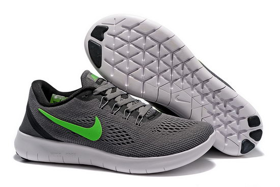 Mens Nike Free Running Dark Grey Green Sweden