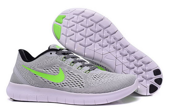 Mens Nike Free Running Grey Green Canada