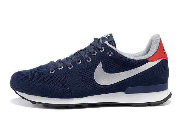 Mens Nike Internationalist Jcrd Weave Dark Blue Red Sliver 40-44