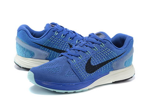 Mens Nike Lunarglide 7 Royal Blue & Black Norway