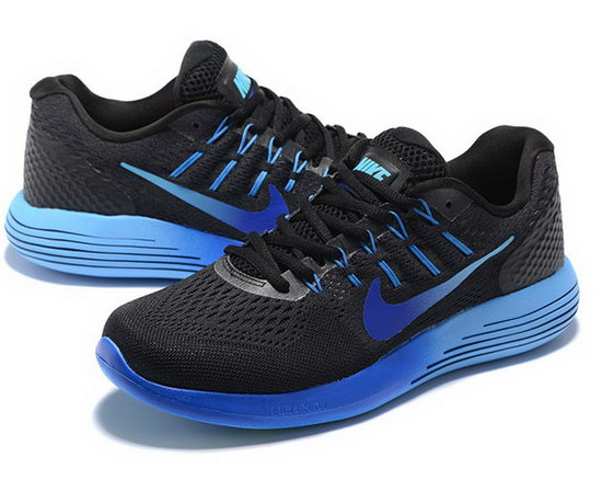 Mens Nike Lunarglide 8 Black Blue 40-45 Online Shop