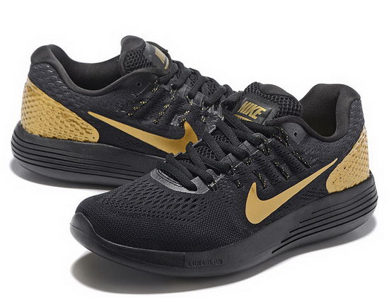 Mens Nike Lunarglide 8 Black Gold 40-45 Germany
