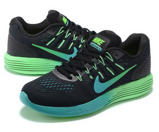 Mens Nike Lunarglide 8 Black Green 40-45 Review