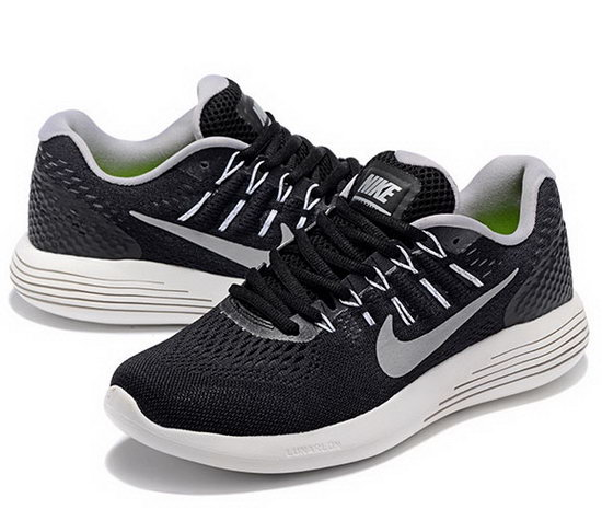 Mens Nike Lunarglide 8 Black Grey 40-45 Factory Outlet