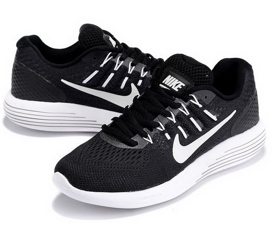 Mens Nike Lunarglide 8 Black White 40-45 Factory