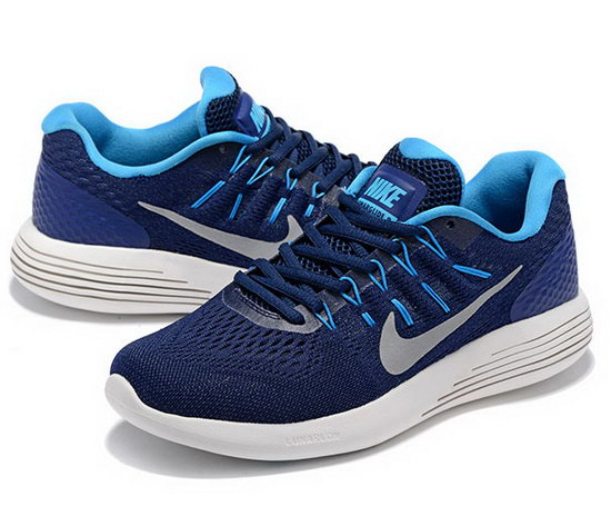Mens Nike Lunarglide 8 Blue Dark Blue 40-45 Low Price