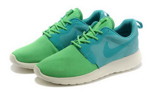 Mens Nike Roshe Run Green Blue Canada