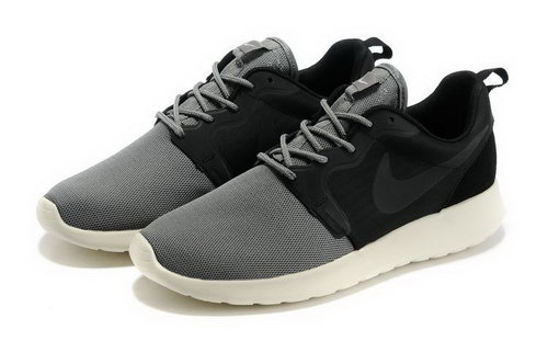 Mens Nike Roshe Run Grey Black Uk