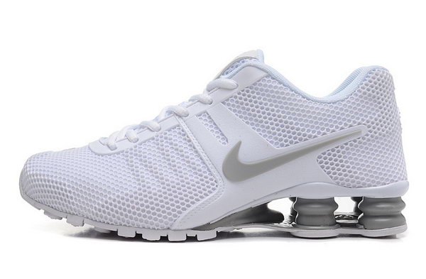 Mens Nike Shox 2016 807 All White 40-46 Factory