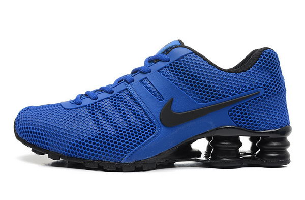 Mens Nike Shox 2016 807 Blue Black 40-46 Coupon