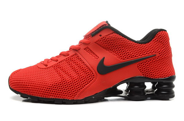 Mens Nike Shox 2016 807 Red Black 40-46 Canada