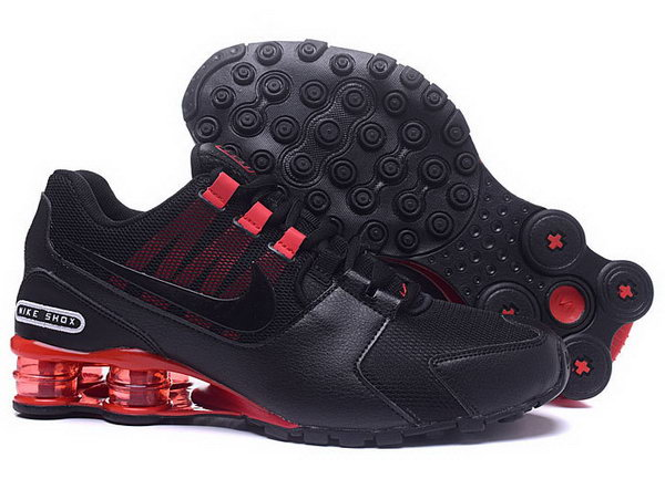 Mens Nike Shox Avenue Black Red 40-46 New Zealand